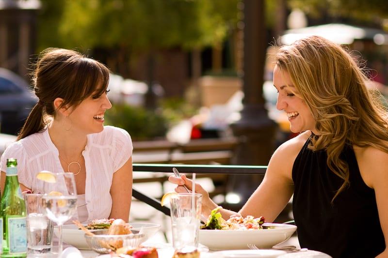 yummy ladies are having dinner and enjoying lesbian threesome  83827