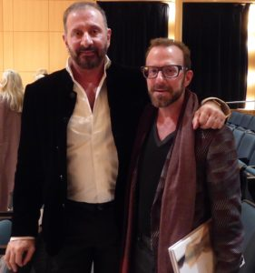 Designer and Artist, Ralph Rucci with me, Joseph Rosenfeld