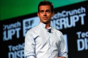 Jack Dorsey regularly wears a Dior Homme cotton poplin reverse collar shirt, making an iconic design a consistent everyday look.