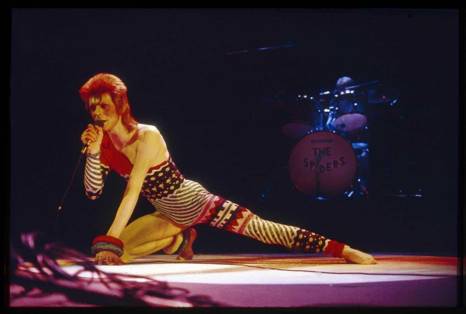 Fashion Helps You to Advance; David Bowie