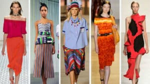 Do current fashion trends mean anything? Well, these are current fashion trends. When you look at them, do they mean anything to you?In the grand scheme of things, trends always mean something. But, for you as an individual, maybe not...